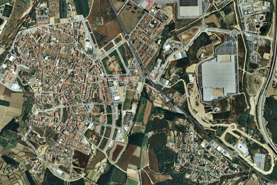 tordera, barcelona, cataluña, catalunya, después, urbanismo, foto aérea,desastre, urbanístico, planeamiento, urbano, construcción