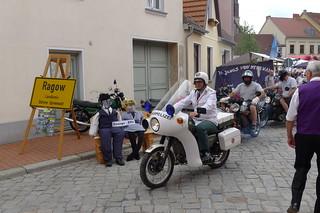 Rundfahrt der Ragower Motorradfreunde