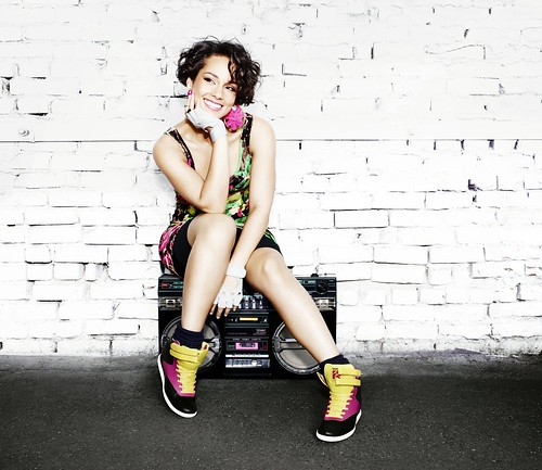Alicia Keys - Reebok Classics