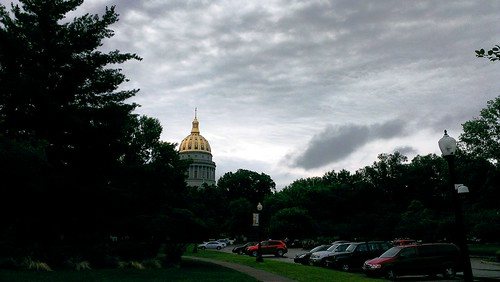 WV Capitol After the Storm