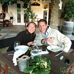 Dan & Audrey at Hans Herzog Winery - Marlborough, New Zealand