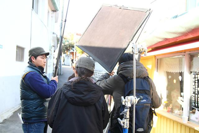 街拍电影街边拍摄2