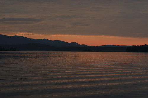 lake color nature water sunrise landscape nikon day cloudy nh winnipesaukee d5100
