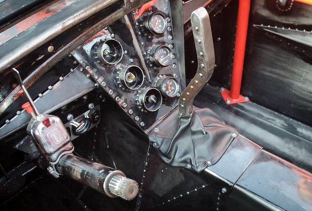 Rat Rod Interior Flickr Photo Sharing