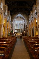 Inside Bradford Cathedral