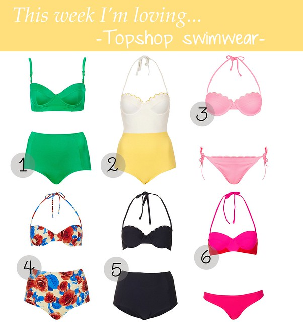 topshop swimwear