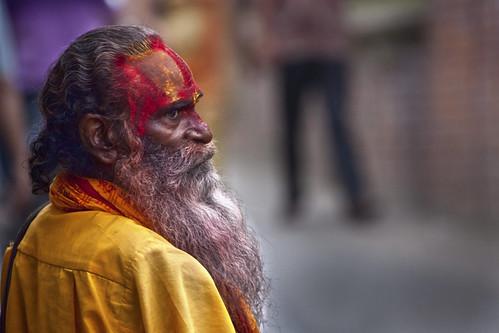 nepal temple kathmandu baba babu sadhu pashupatinath