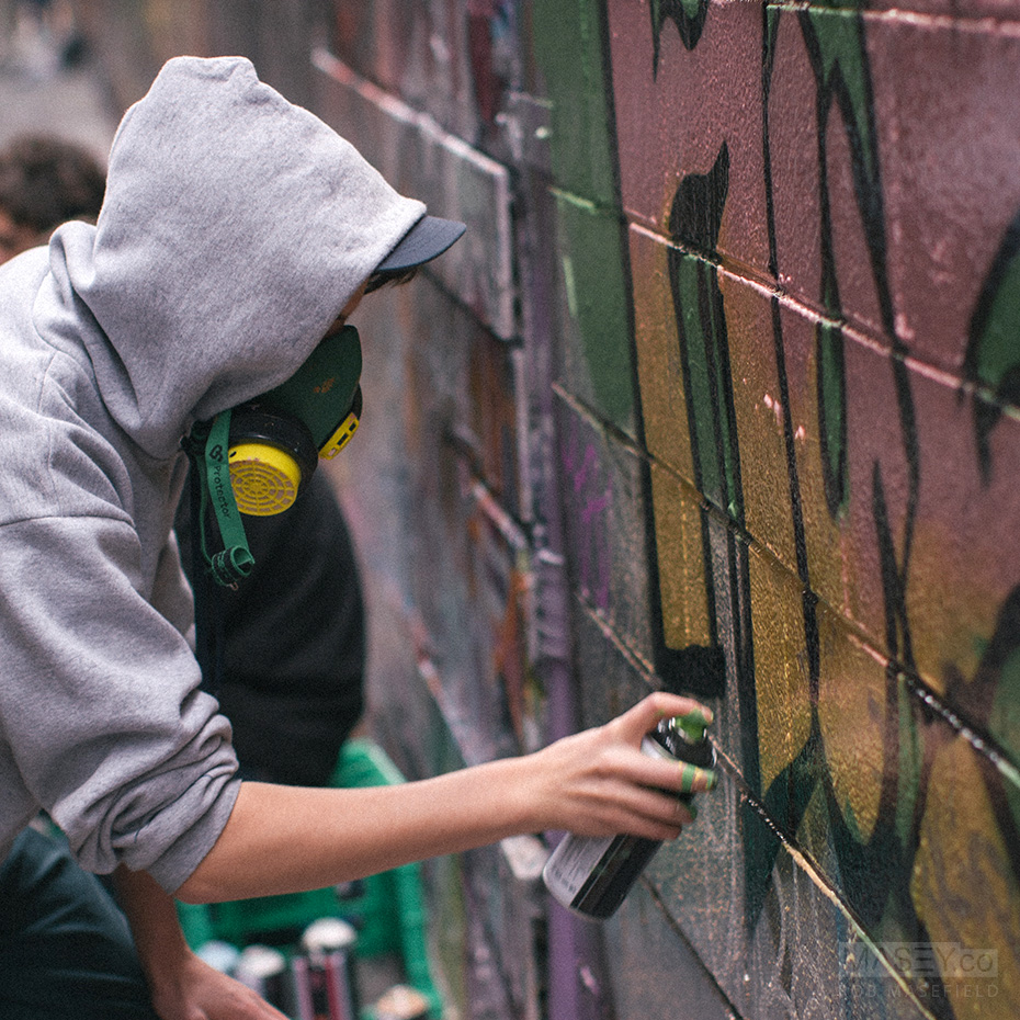 Melbourne's Hosier Lane.