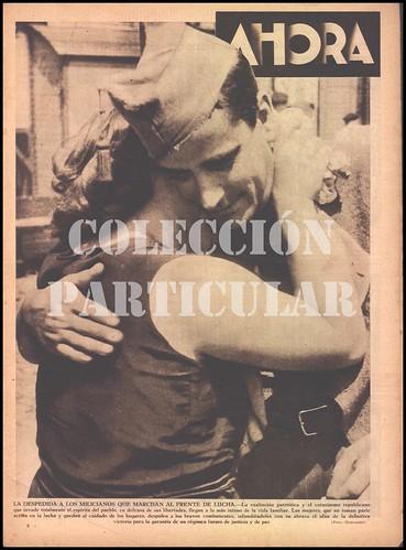 Revista: «Ahora» 6 de agosto de 1936, fotografía firmada por Gonshani, autor: Agustí Centelles i Ossó. by Octavi Centelles