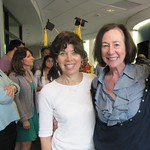 Photo of Marcia Katz and Kate Goldfield