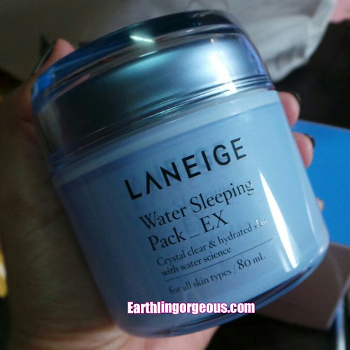 Laneige Water Skeeping Pack review by Earthlingorgeous