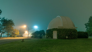 Vancouver Observatory, foggy