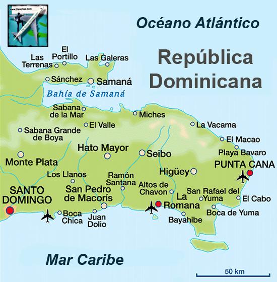 La República Dominicana comparte isla (La Española) con Haití, situándose en el Este de la misma. Punta Cana - 9877497235 60790fa260 o - Punta Cana, paraíso terrenal donde nace el sol