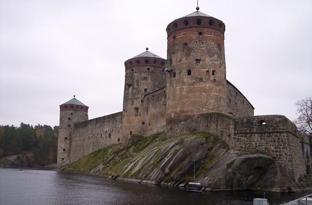 El castillo de Savonlinna