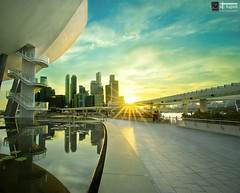 Sunset View from MBS The Shoppes