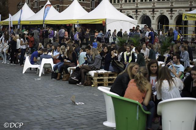 Studentenwelkom in Leuven 2013: Ladeuzeplein