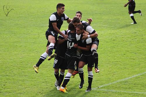 Campeonato Nacional de Seniores: Vitória B 5-5 Ribeirão