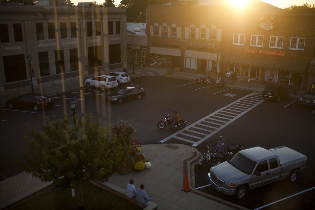 Elkton Square at Sunset