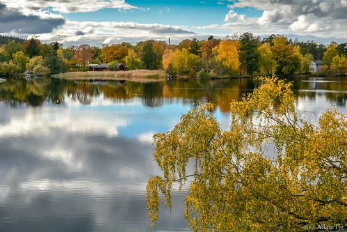 autumn october sweden stockholm scandinavia nacka 2013 länsmuseum