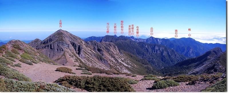 聖稜線(From 雪山頂) 1-1