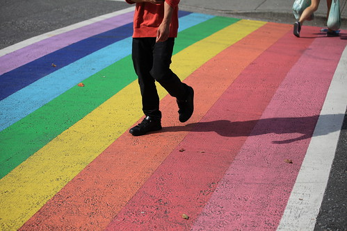 Walking On The Rainbow