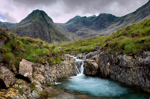 The Fairy Pools Waterfalls, Isle of Skye by emperor1959
