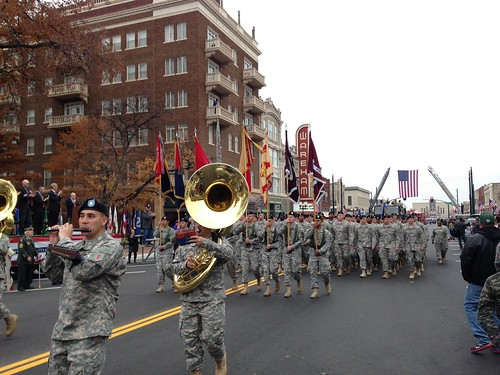 Manhattan Veterans Day Parade