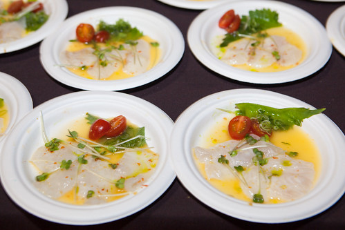Maisono - Fluke Ceviche with Spicy Red Yuzu Juice