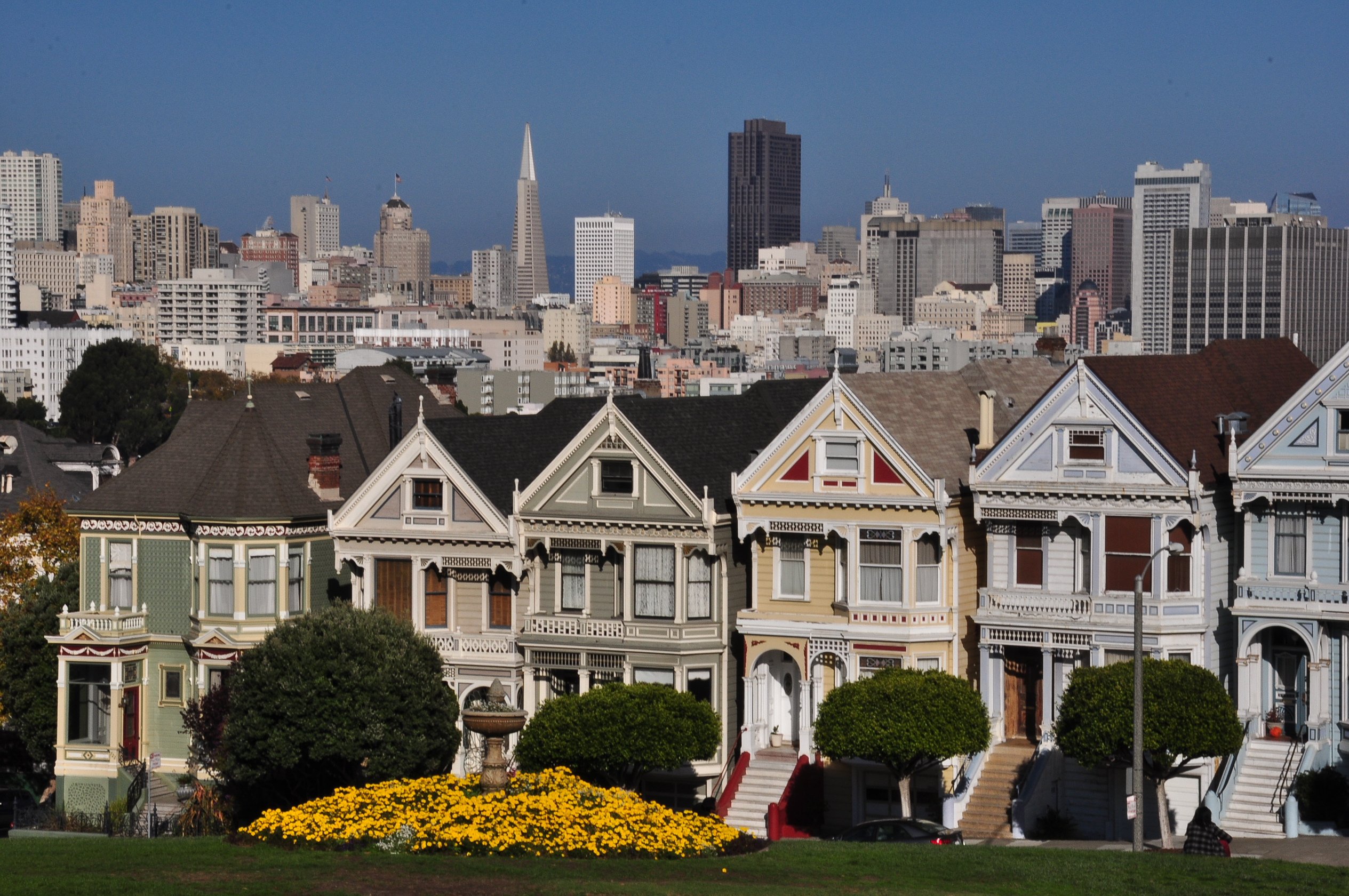The Painted Ladies Of San Francisco As Seen On Full