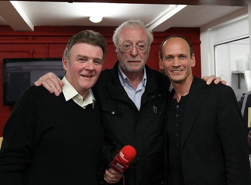 John Gillmore and Sir Michael Caine