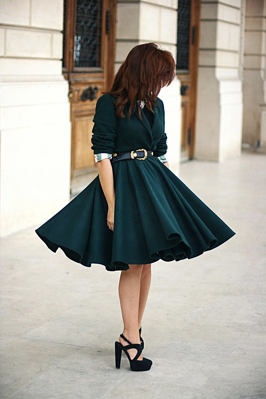 emerald green coat 5