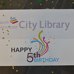 Giant Library Card