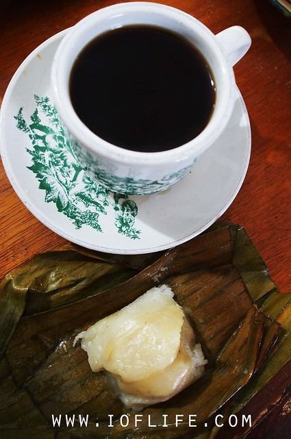 Coffee and lape bugis mak syukur