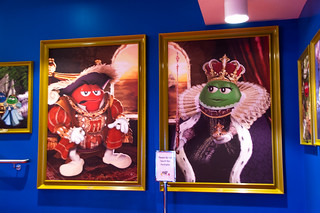 Visite du M&M's World