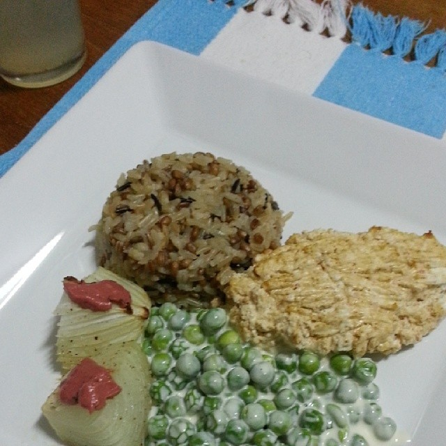 And for #dinner : #chicken baked with wine, goat cheese an… | Flickr ...