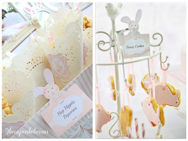bunny themed dessert spread (8)