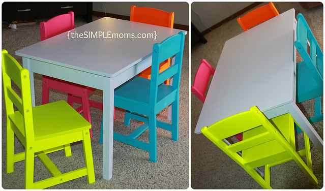 kidkraft highlighter table overall
