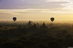 Old Bagan in Sunrise - vimeo.com/81352190