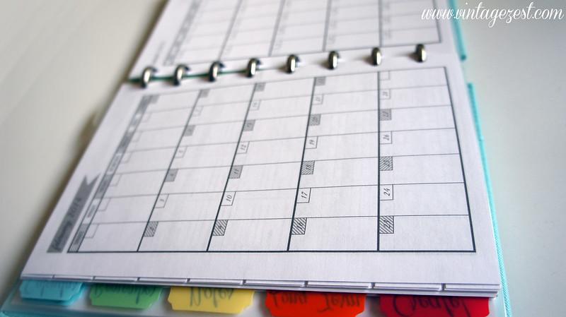 2014 Planner & Free Blog Calendar Printable on Diane's Vintage Zest!