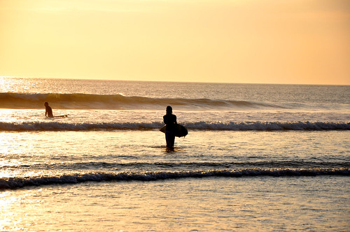 Surfer girls Bali