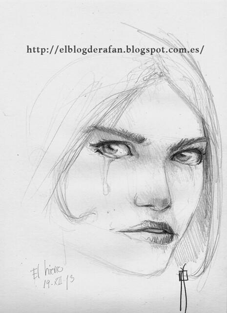 sketch. Eyes