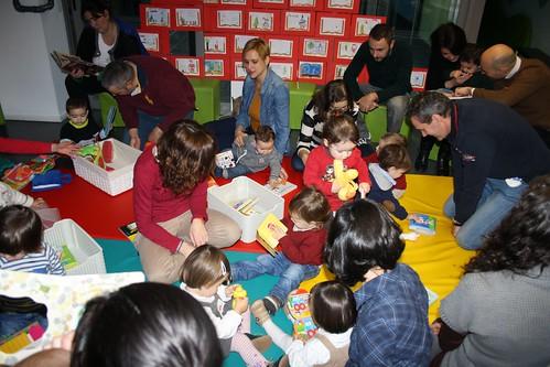 Bebencontro na Biblioteca de Os Rosales