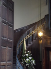 St Philip's Cathedral, Birmingham - entrance - spiral staircase