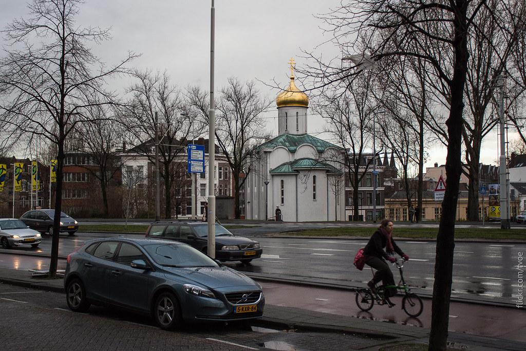 Храм Александра Невского в Роттердаме