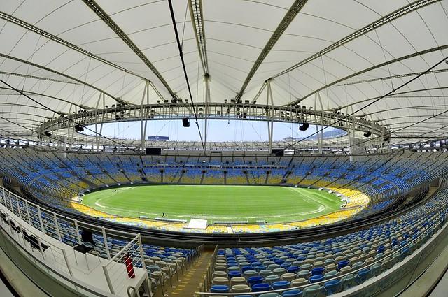 Estádio Jornalista Mario Filho, o Maracanã