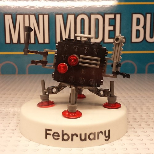 Sneak peek at February's Monthly Mini Model Build, The LEGO Movie Micro Manager