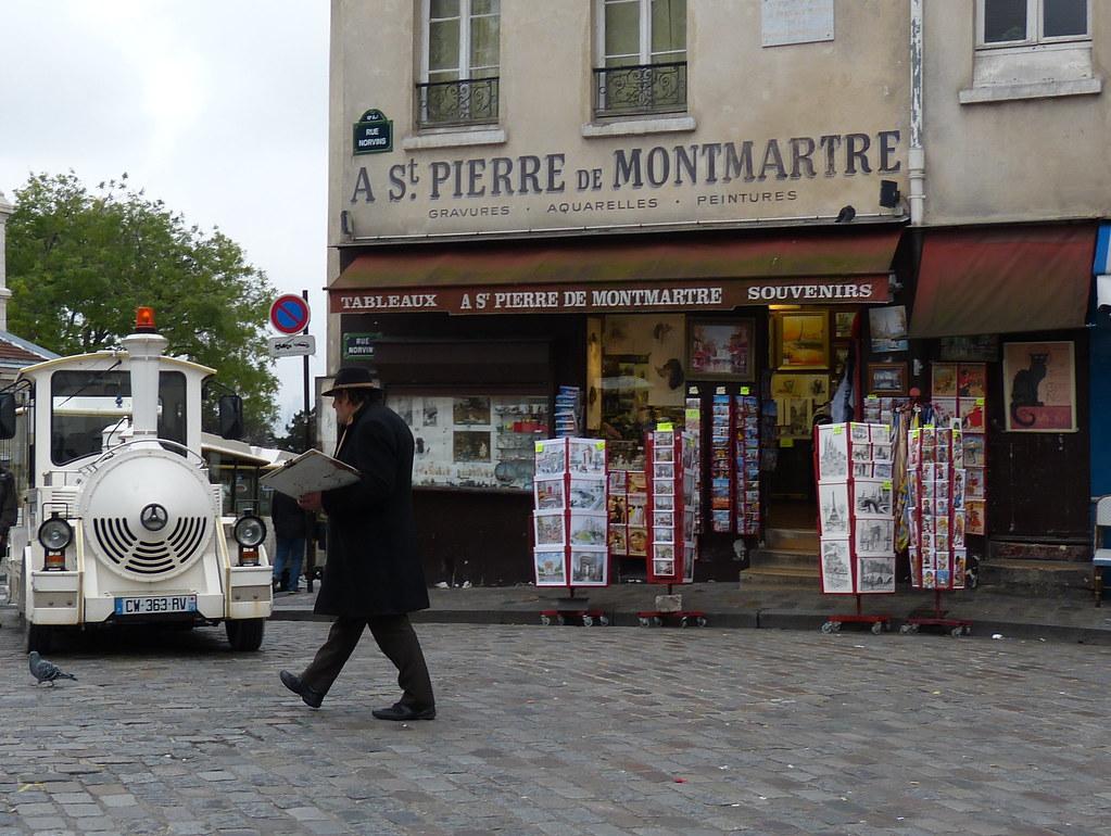 Pittore, Montmartre