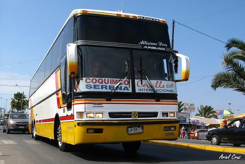 Covalle Internacional en Coquimbo | Busscar Jum Buss 380T / LA3470