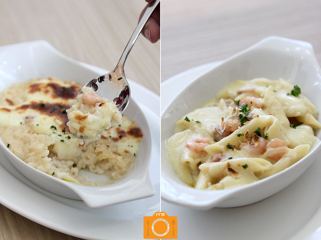 Mentore Gratin and Doria collage