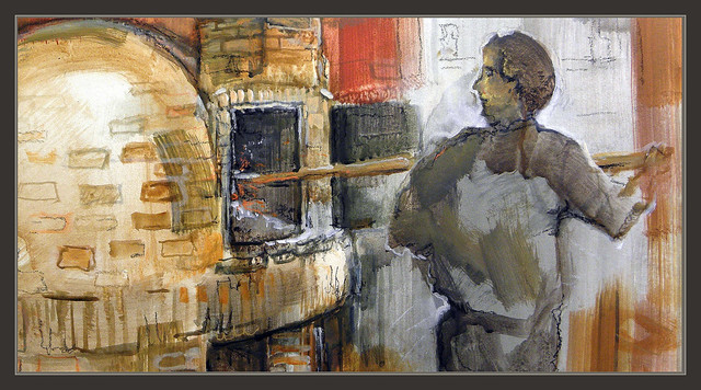 Castellfollit del boix pintura hornos de le a restaurantes - Hornos de lena tradicionales ...